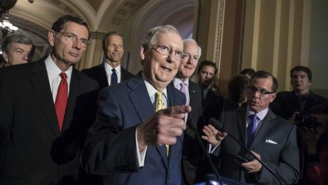 US Senate Republicans release draft bill on healthcare