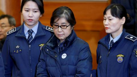 Former South Korean leader's friend gets three years in prison