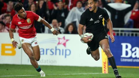 All Blacks take test series lead against Lions