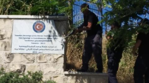 Officials documents disprove Israeli claims about Turkish cemetery plaque