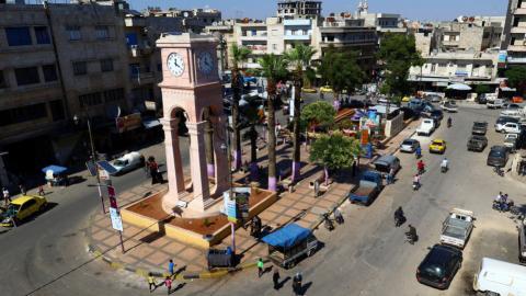 Car bombing in Syria's Idlib kills ten