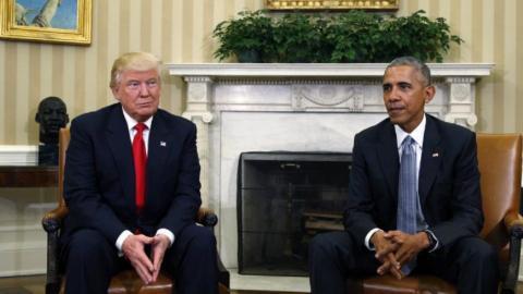 Trump criticises Obama's response to Russia hacking