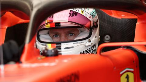 Ferrari's Vettel expects slim margins at F1 double-header in Austria