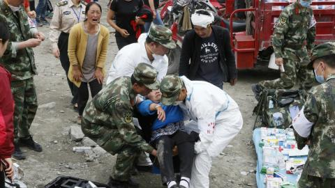 Frustration grows with authorities over China landslide
