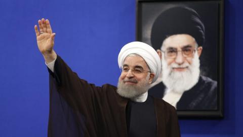 Iran's Rouhani backs Qatar, rejects