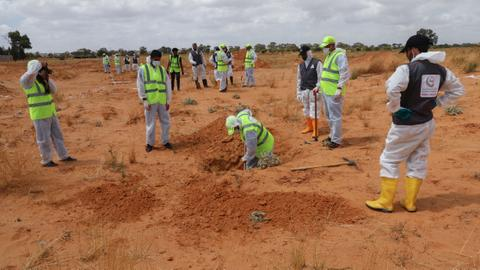 More bodies found in new Libya mass grave