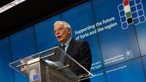 EU and UN donors pledge $7.7B to tackle Syria humanitarian crisis