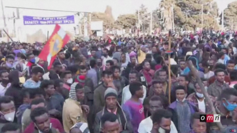 Three people dead after protests erupt over killing of singer in Ethiopia