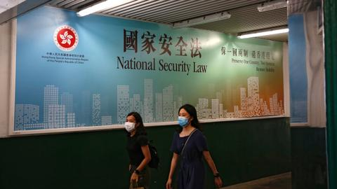 China tells foreign critics 'none of your business' on  Hong Kong law