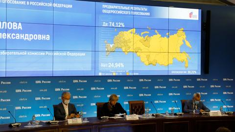 Russians back reforms allowing Putin to stay until 2036 in landslide vote