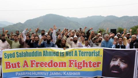 Pakistan slams US sanctions against Kashmir rebel commander