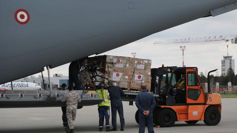 Serbia thanks Turkey after receiving another batch of medical supplies