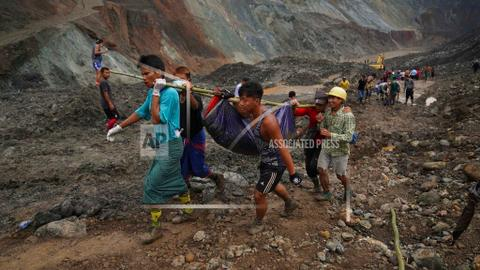 Dozens more to be buried in mass grave as Myanmar jade mine toll rises