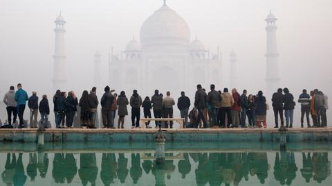 India to reopen Taj Mahal despite record daily jump in Covid-19 cases