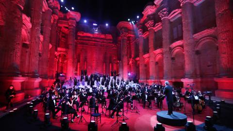 Lebanon hosts annual music fest despite coronavirus crisis