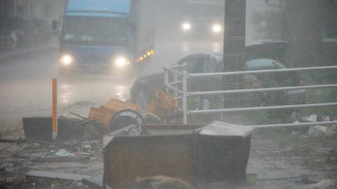 Nearly 40 people feared dead as torrential rains hit southwest Japan