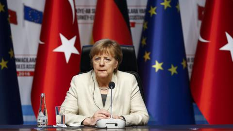 Germany's Merkel calls for 'safe zones' in Syria