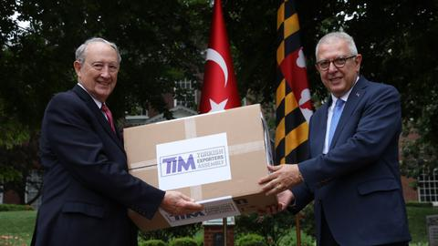 Turkish organisation donates 100,000 masks to Maryland