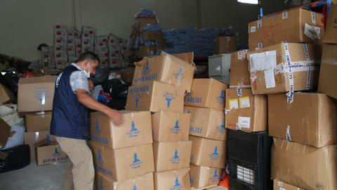 Turkish aid group sends humanitarian assistance to northernSyria