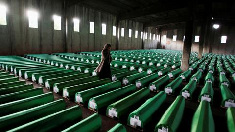 Bosnian Serb government is 'indoctrinating' children over Srebrenica