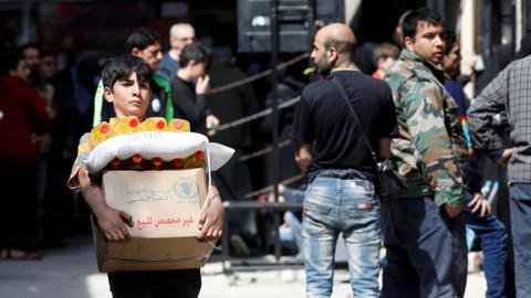 Russia's bid to reduce cross-border aid to Syria fails at UN