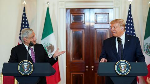 US, Mexico leaders tout 'outstanding' ties despite bitter past
