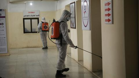 Syria's northwest sees first confirmed case of coronavirus