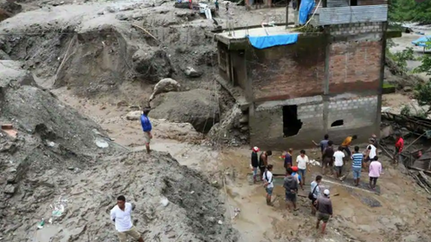 Monsoon rains trigger multiple landslides in Nepal