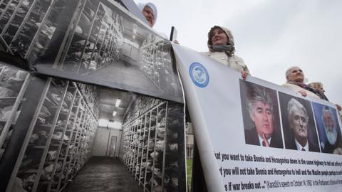Srebrenica genocide denial has been 'surpassed by triumphalism'