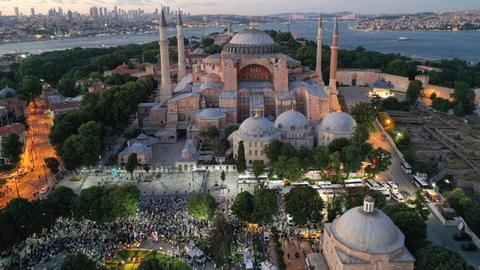 Erdogan: Islamic prayers in Hagia Sophia on July 24 after 86 years