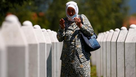 Was the Srebrenica genocide aimed at the wider Muslim presence in Europe?