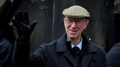 Jack Charlton, England World Cup winner and Irish hero, dies at 85