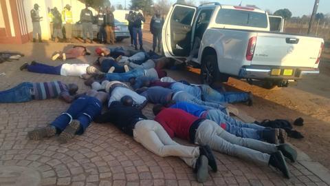 Deaths as gunmen attack South African church