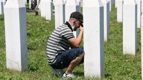 In pictures: 25th anniversary of Srebrenica genocide