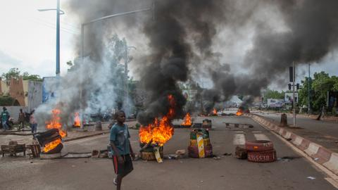 Mali protests in second day despite president's call for talks