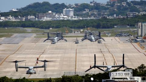 Okinawa governor wants tougher action as 61 US Marines infected