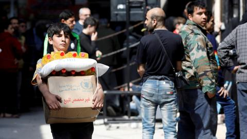 UN restarts cross-border aid to Syria but restricts access to one point