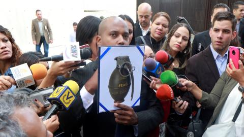 Helicopter used in Venezuela Supreme Court attack found