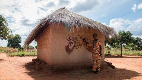 Simple murals turn into a ticket to Paris for women from DR Congo