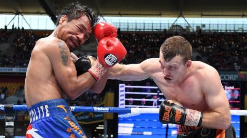 Horn stuns Pacquiao to win WBO welterweight world title