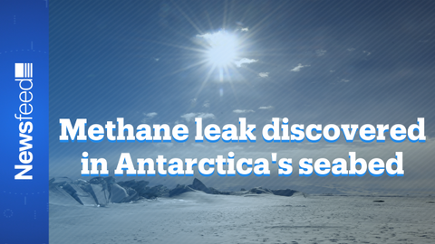 Scientists discover first active leak of seabed methane in Antarctica