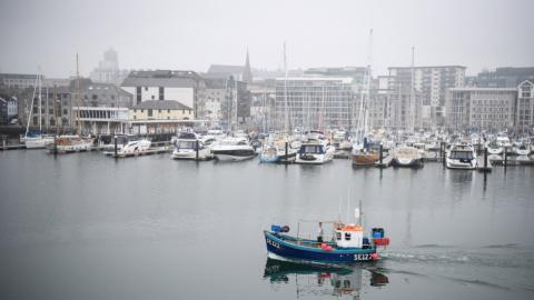 UK to ban EU countries from fishing in its waters