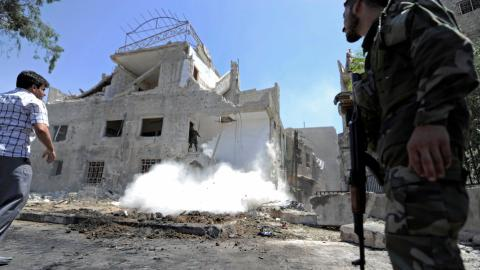 Assad's regime announces unilateral ceasefire in southern Syria