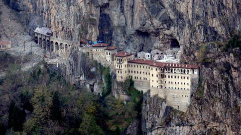 Turkey reopens the Sumela Monastery after four years of restoration