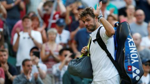 Wimbledon: Wawrinka stunned by debutant Medvedev in round 1