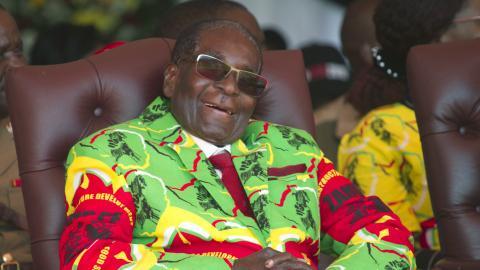 Mugabe donates $1M to African Union