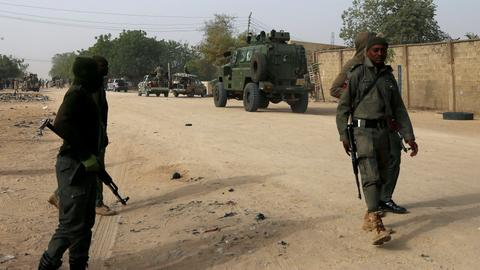 Suspected militants attack Nigeria's Maiduguri city