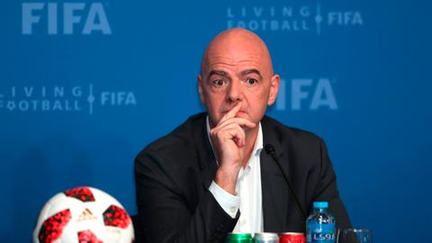 FIFA chief under criminal investigation over a suspected corruption