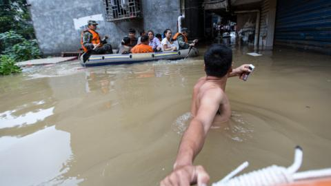At least 56 dead as floods wreak havoc in China