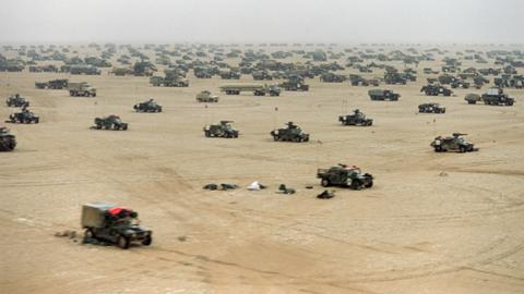 In pictures: The Gulf War 30 years on